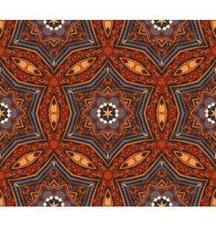 Abstract mosaic tiled motif vector image