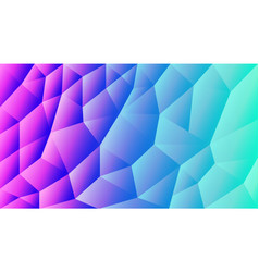 Abstract triangulated background gradient vector