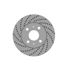 brake disk vector image