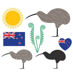 New Zealand vector image
