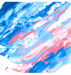 pink blue watercolor texture vector image
