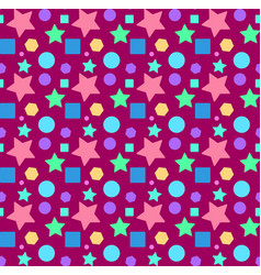 seamless repeating pattern from different vector image