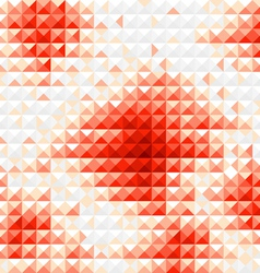 Red diamond mosaic background vector image vector image