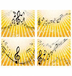 music stuff vector image