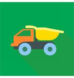 Digital truck car toy vector image vector image