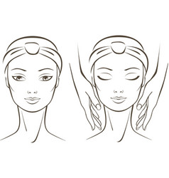 beauty treatment vector image