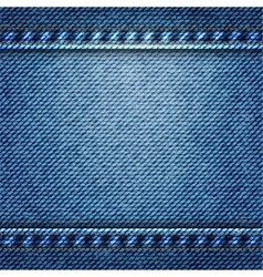 Blue jean texture background vector
