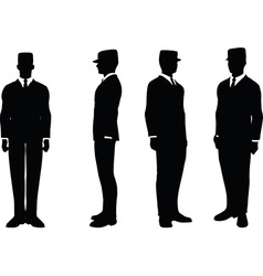 Businessman attention vector