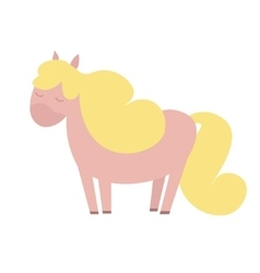 Cartoon Horse or Pony vector