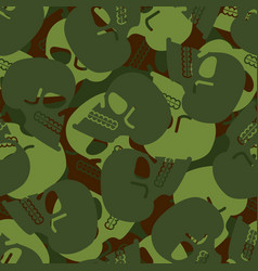 Military texture skull army skeleton seamless vector