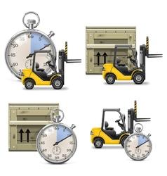 Shipment Icons Set 21 vector
