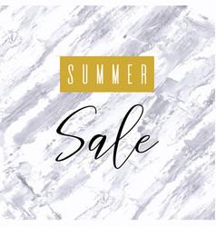 summer sale lettering inscription special offer vector image