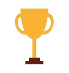 Trophy first place line icon vector