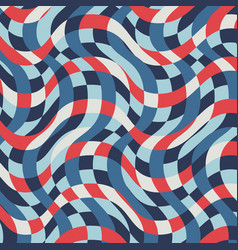 vintage nautical striped pattern vector image