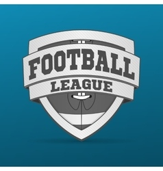 American Football graphic Label vector image vector image