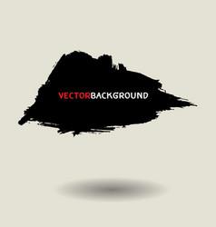 black brush texture background set vector image vector image