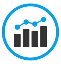 Analytics Flat Icon vector