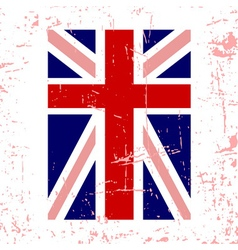 British flag vertical vector