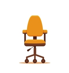business chair icon vector image