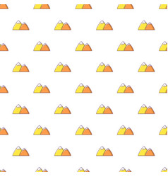 mountain pattern seamless vector image