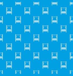 playground simulator pattern seamless blue vector image