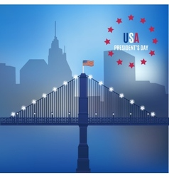 usa design over lineal background vector image