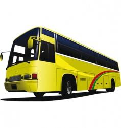 city bus 01 vector image vector image
