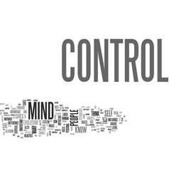 Why do people think mind control is bad text word vector