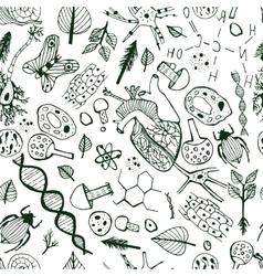 Biological Background vector image
