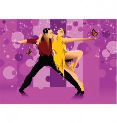 dance hall vector image