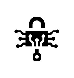 Cryptography icon eps file vector
