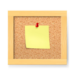 empty notice wooden board on white background vector image