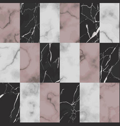 marble brick seamless pattern luxury vector image