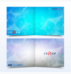 modern minimal layout cover design vector image