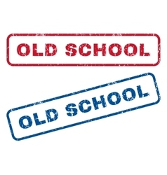Old school rubber stamps vector