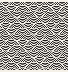 seamless monochrome pattern abstract stripy vector image