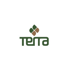 terra-logo vector image