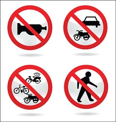 Traffic sign 3 vector