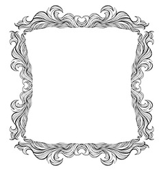 Vintage frame with place for text or picture For vector