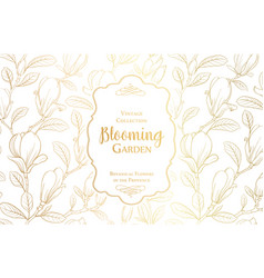 white invitation card design vector image