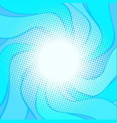 blue wavy halfton background vector image