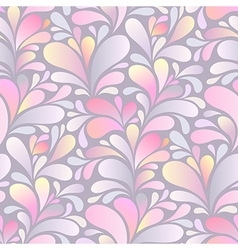 paisley pattern pink vector image vector image