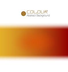 warm colour vector image
