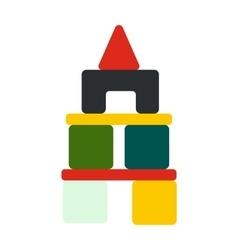 Children blocks icon vector image vector image