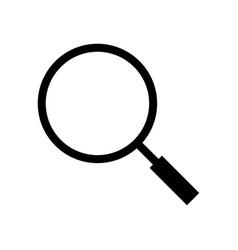 searc icon - iconic design vector image vector image