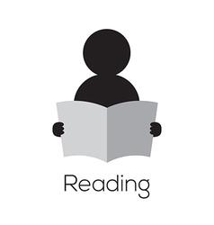 Reading Icon vector image