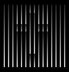 Abstract unusual christian cross sign logo vector