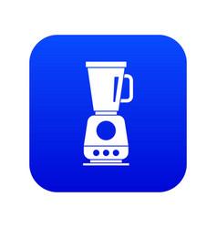 Blender icon digital blue vector