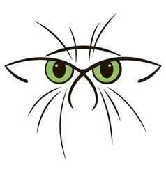 Cat sketch vector