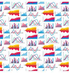 diagram chart graph elements business vector image
